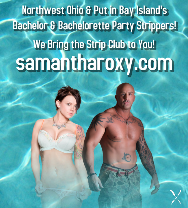 Team Roxy Hunks and Babes - Strip Tease Blog Toledo OH - Exotic Dancers, Bachelor Party Ideas - Samantha Roxy - 2015_FLYER