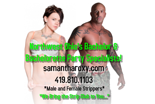 Norwalk Ohio party strippers - Strip Tease Blog Toledo OH - Exotic Dancers, Bachelor Party Ideas - Samantha Roxy - cl_graphic