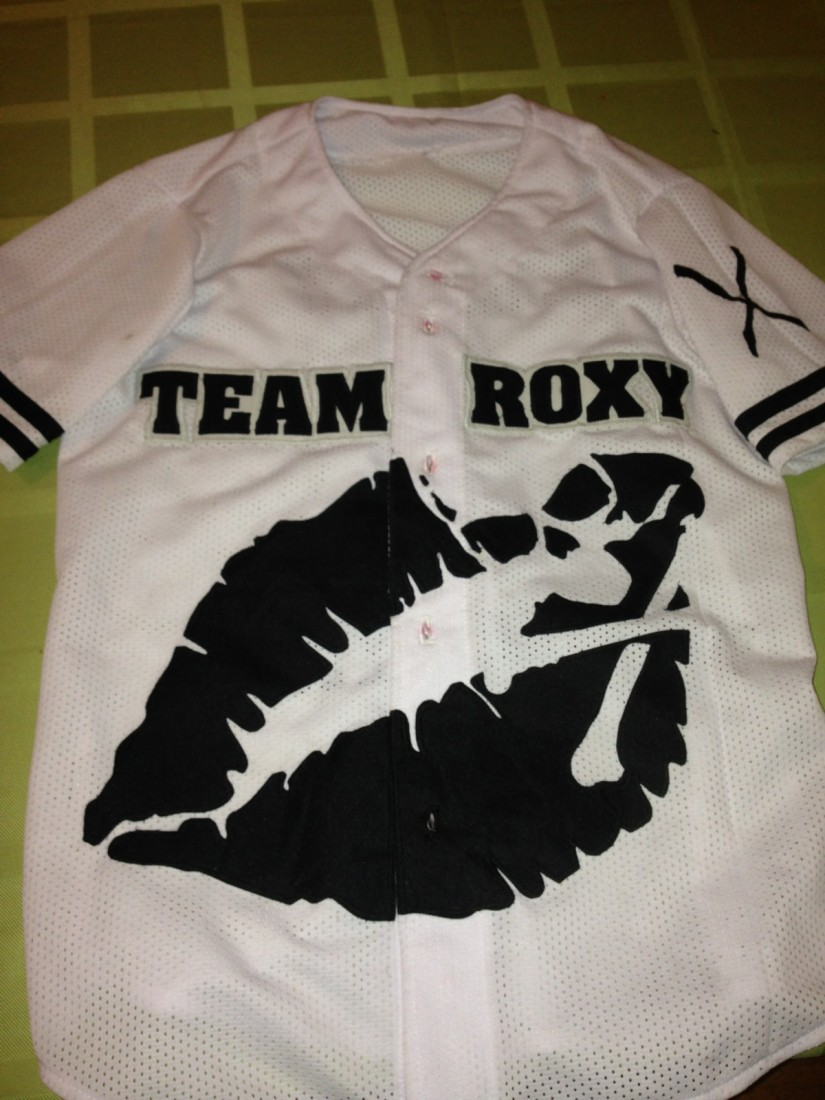 Team Roxy Jersey - Strip Tease Blog Toledo OH - Exotic Dancers, Bachelor Party Ideas - Samantha Roxy - jersey15