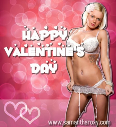 Happy Valentine's Day! - Strip Tease Blog Toledo OH - Exotic Dancers, Bachelor Party Ideas - Samantha Roxy - sr_vday